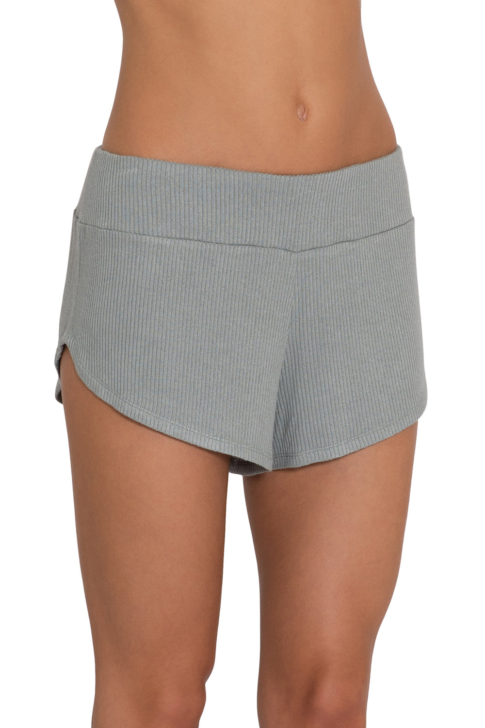 Eberjey Elon Track Short- Willow Green