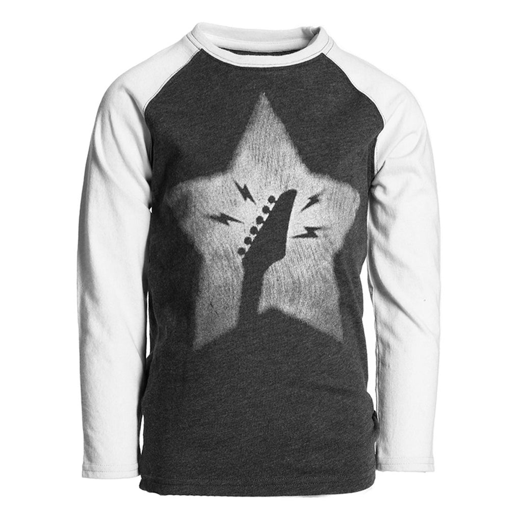 Appaman Graphic Raglan Long Sleeve - Star Guitar