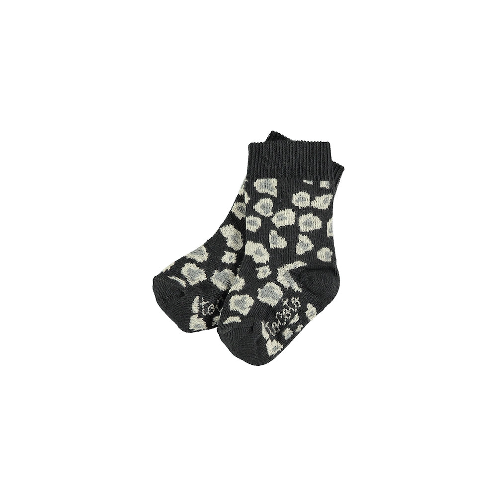 Tocoto Vintage Animal Print Socks