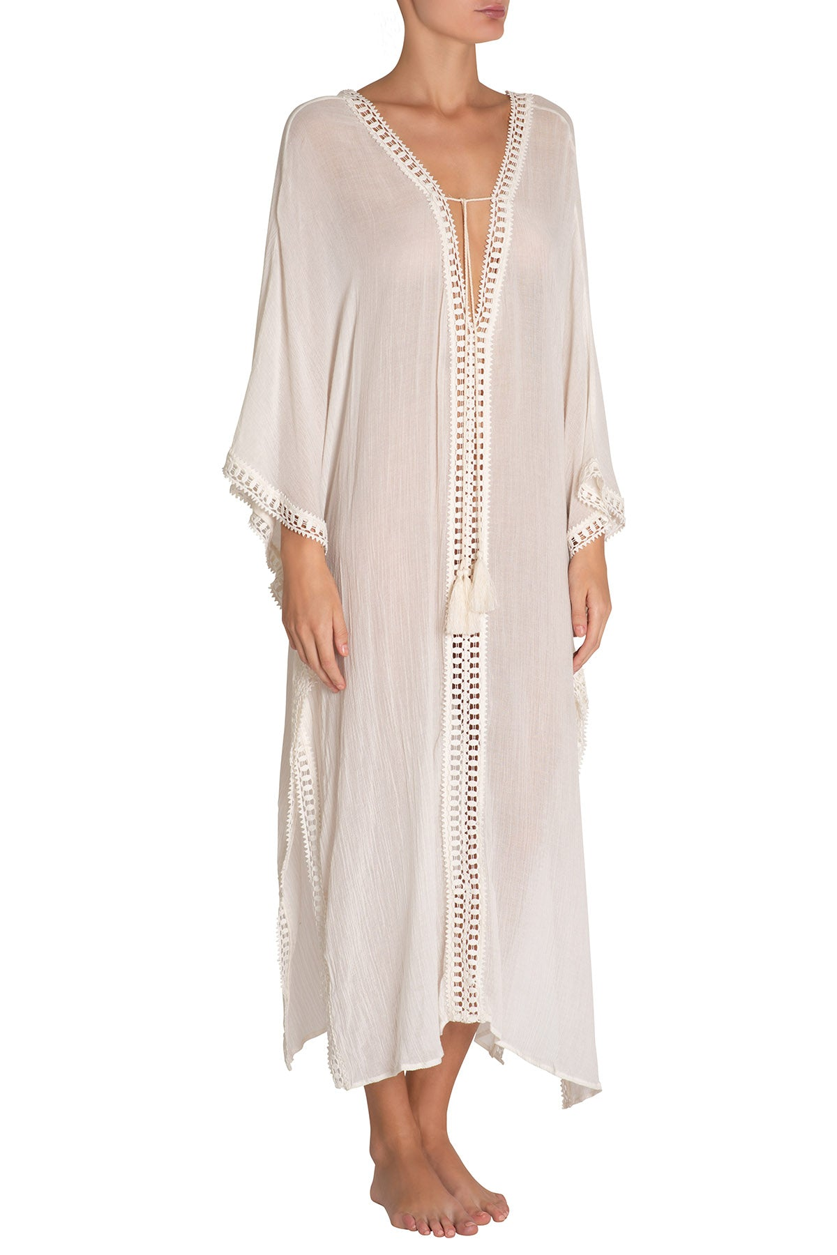 Eberjey Summer Of Love Ilda Cover Up- Cloud