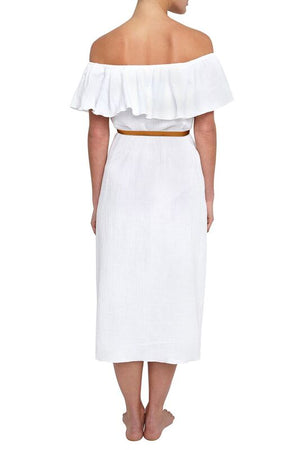 Eberjey Nomad Florence Dress - White