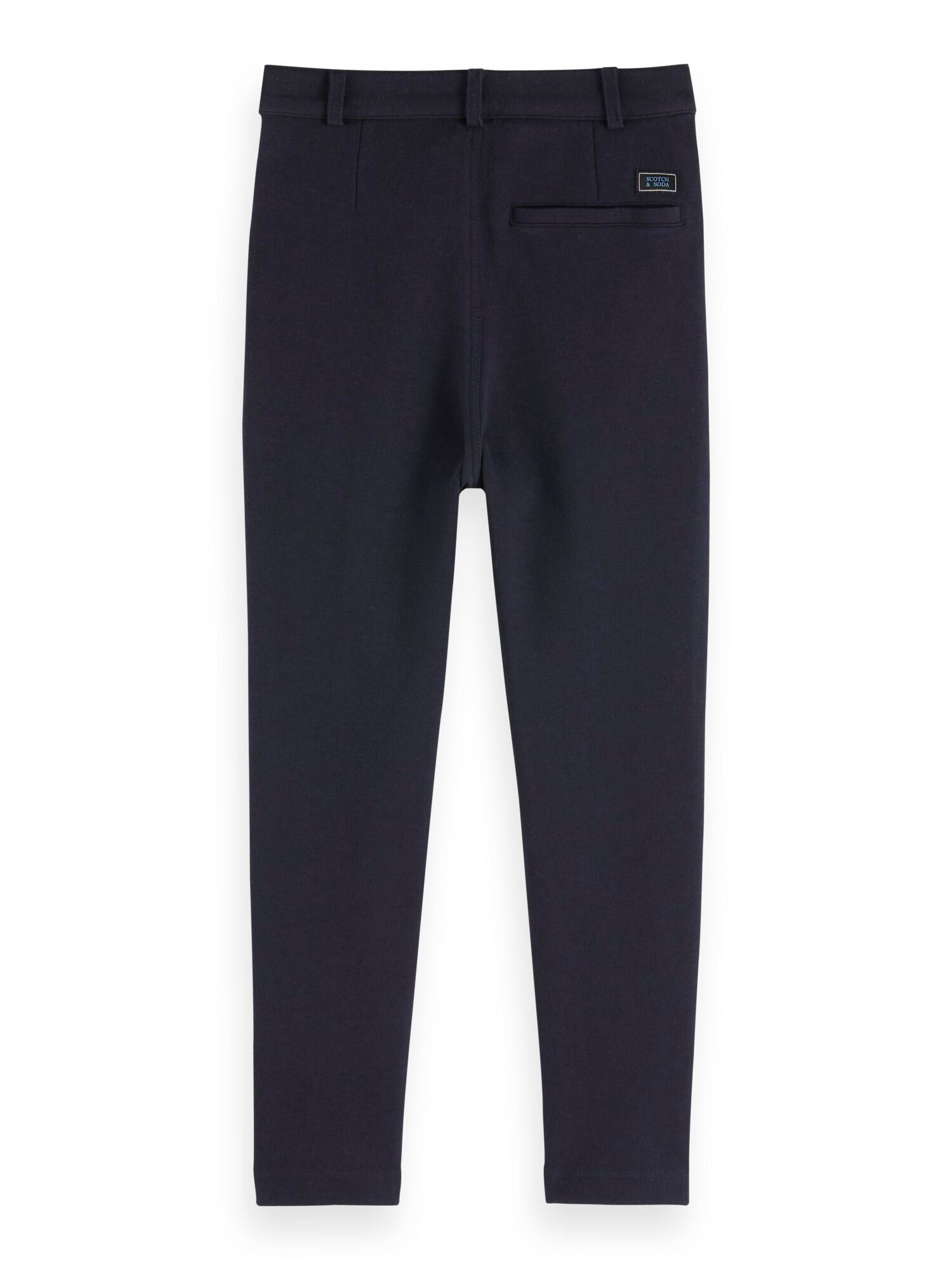 Scotch Shrunk Bonded Dress Pants -Navy