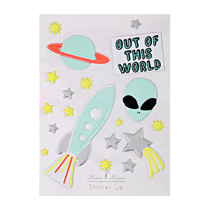 Out Of This World Stickers