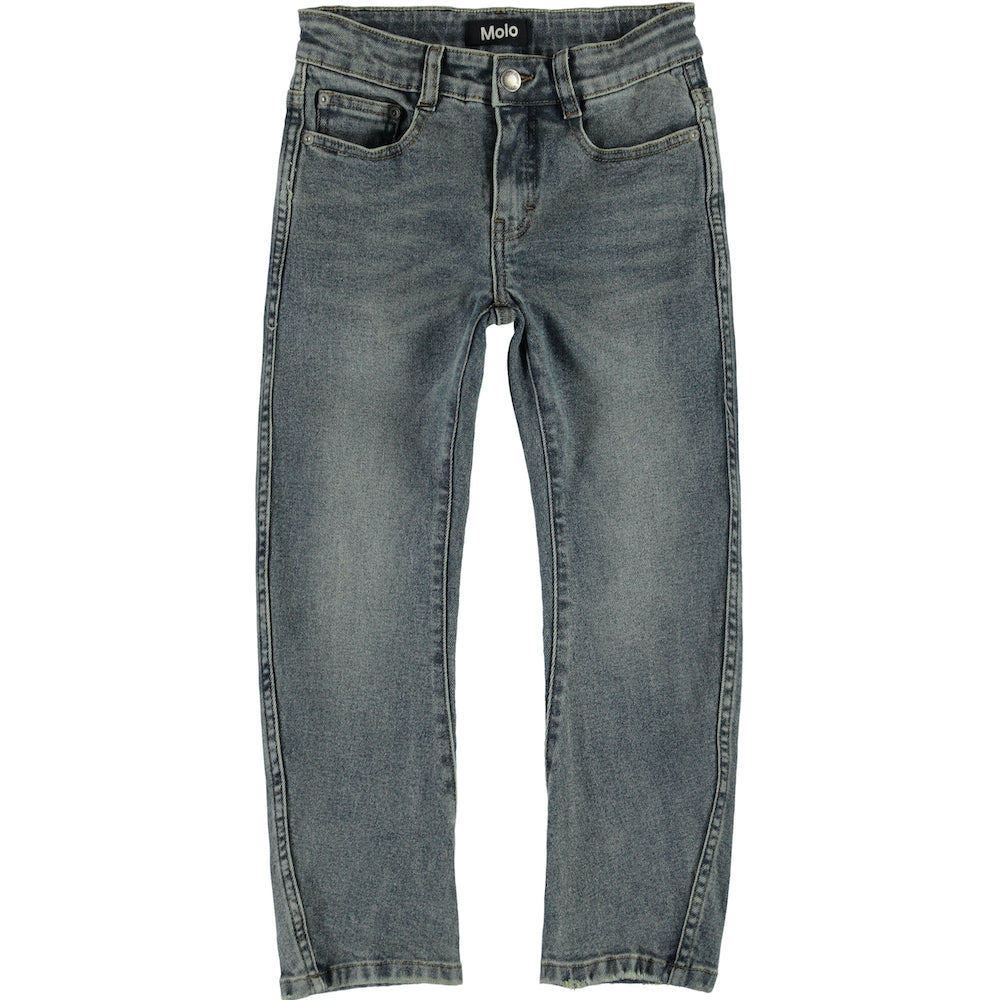 Molo Alonso Washed Denim - Tinted Blue