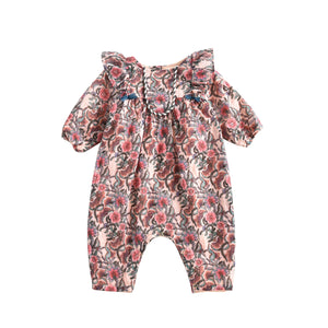 Louise Misha Titila Overall Jumper - Blush Flowers
