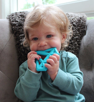 Little Standout Diamond Silicone Teether