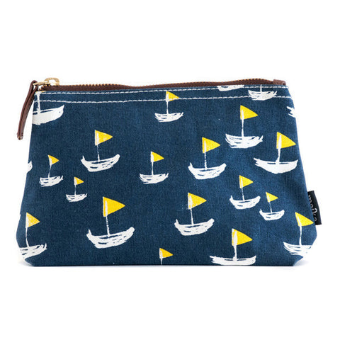 sailboat zip pouch