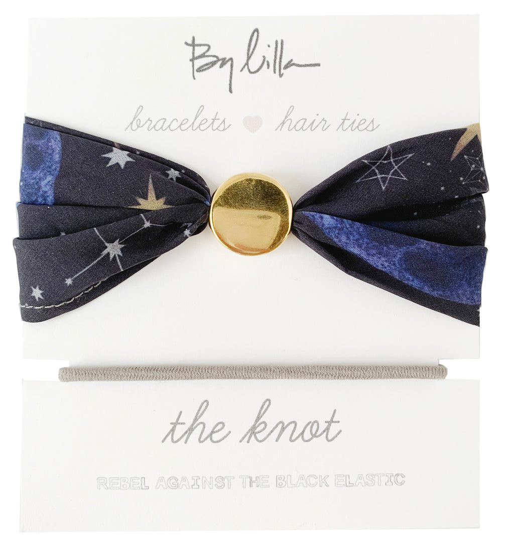 By Lilla The Knot Hair Tie Bracelet - Constellation