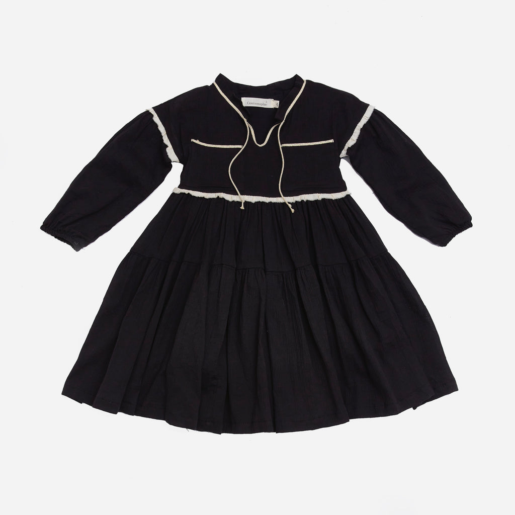 Cosmosophie Cometa Dress - Black