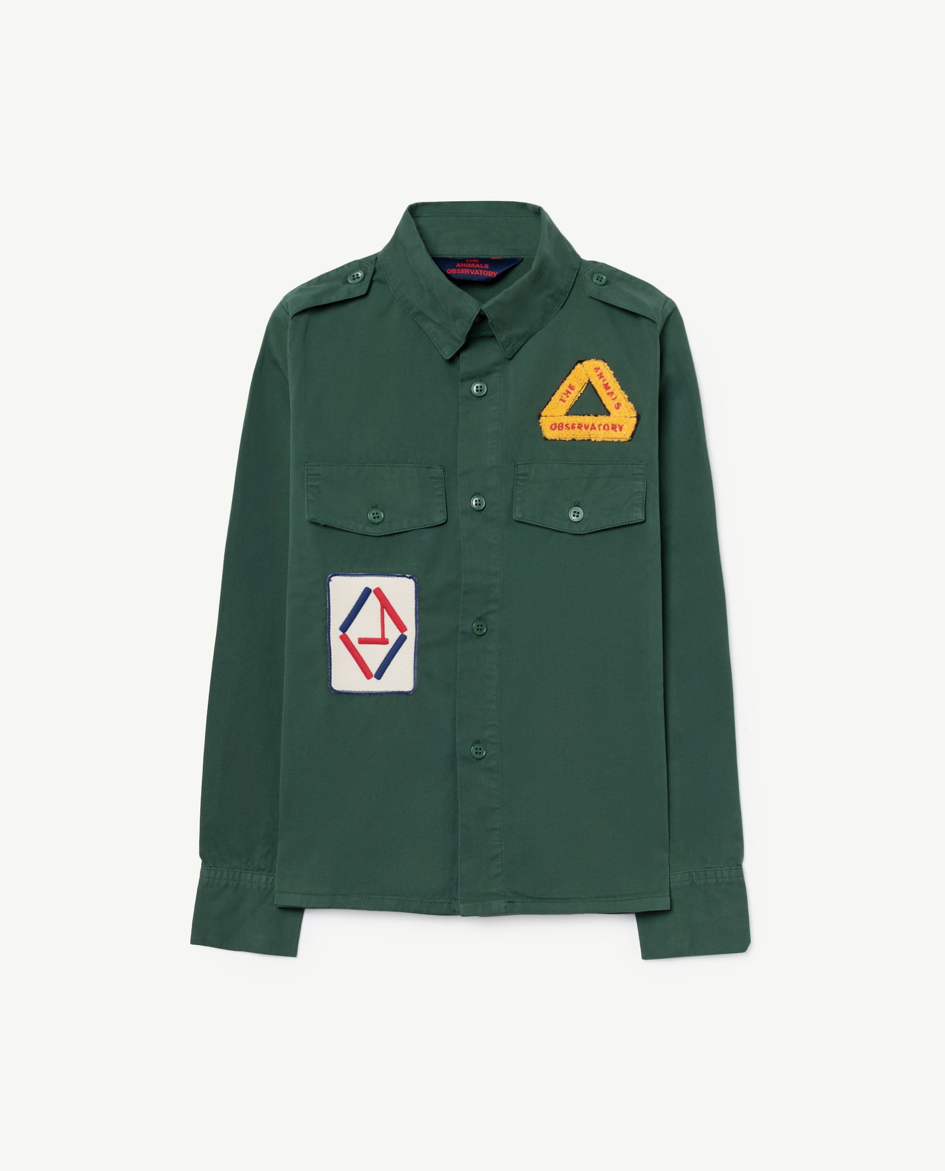 The Animals Observatory Twill Coyote Shirt - Green