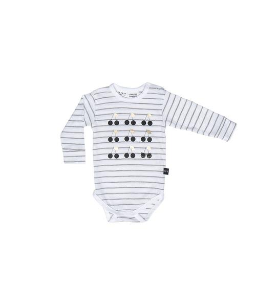 Huxbaby Cherry Long Sleeve Onesie