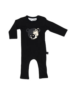 HuxBaby Splash Bear Romper