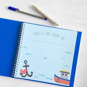 Lucy Darling Little Captain Memory Book