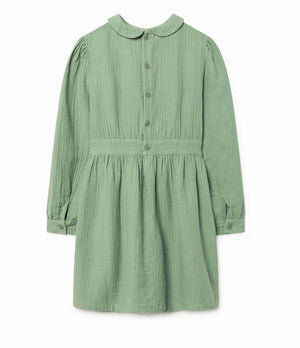 The Animals Observatory Canary Dress - Green