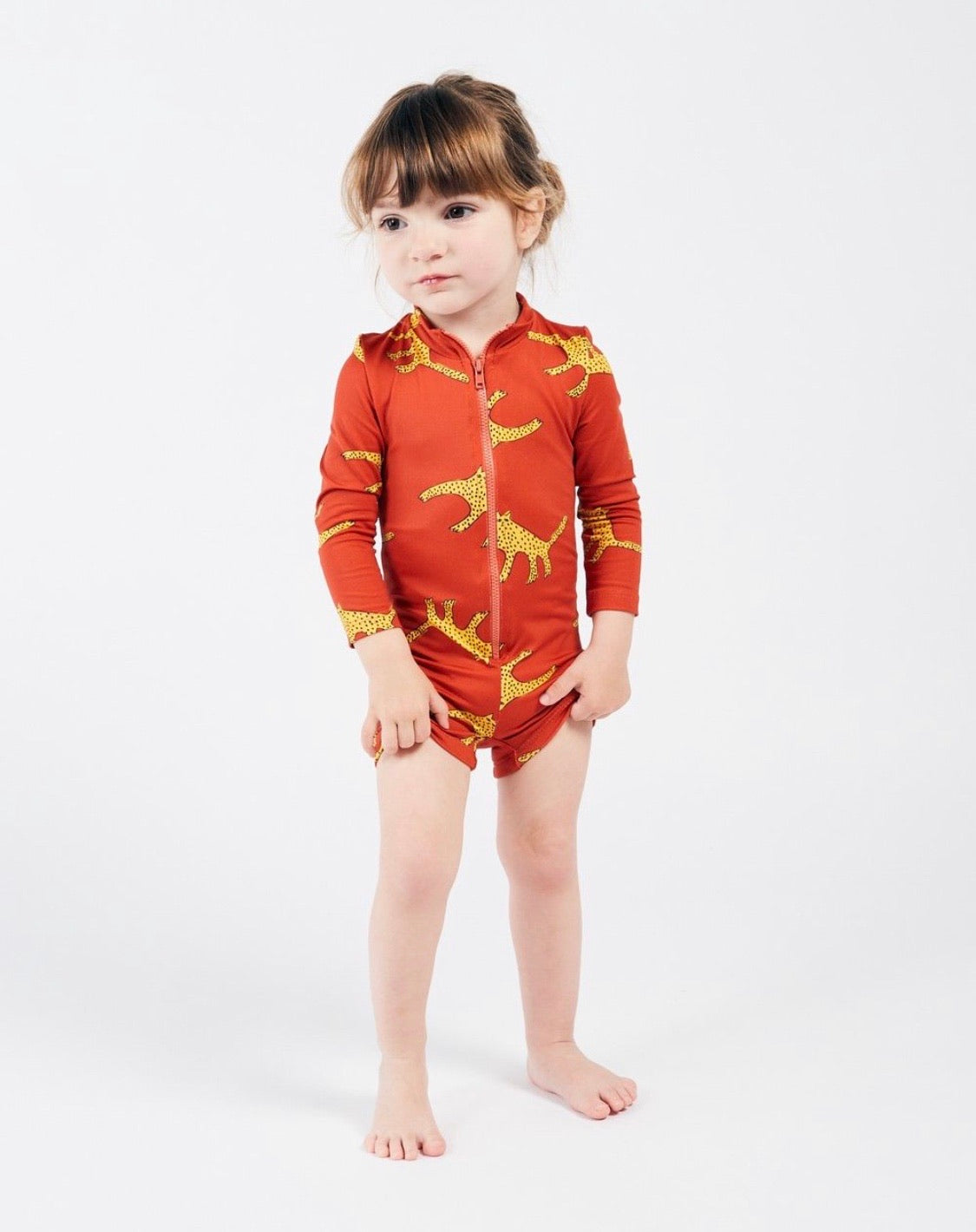 Bobo Choses Leopard Swim Playsuit