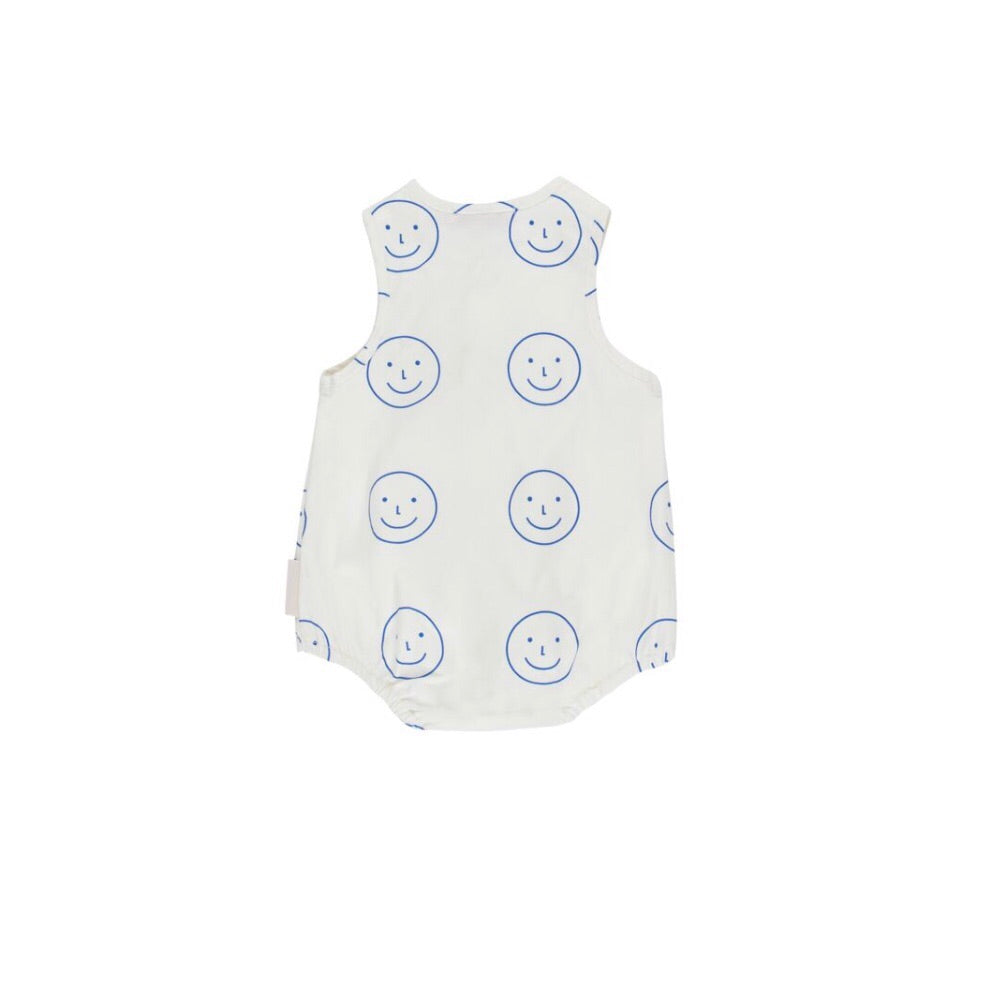 Tiny Cottons Happy Face Tank One-Piece