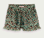 Scotch Shrunk Girls Shorts - Green