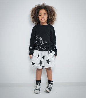 Nununu Knit Star Sweater