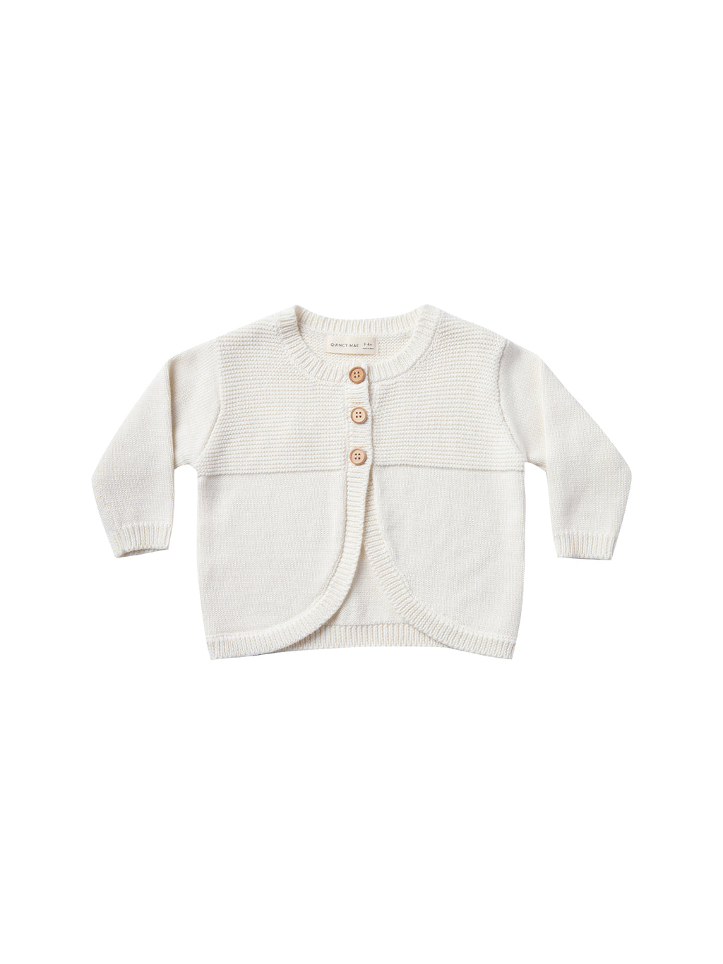Quincy Mae Knit Cardigan - Ivory