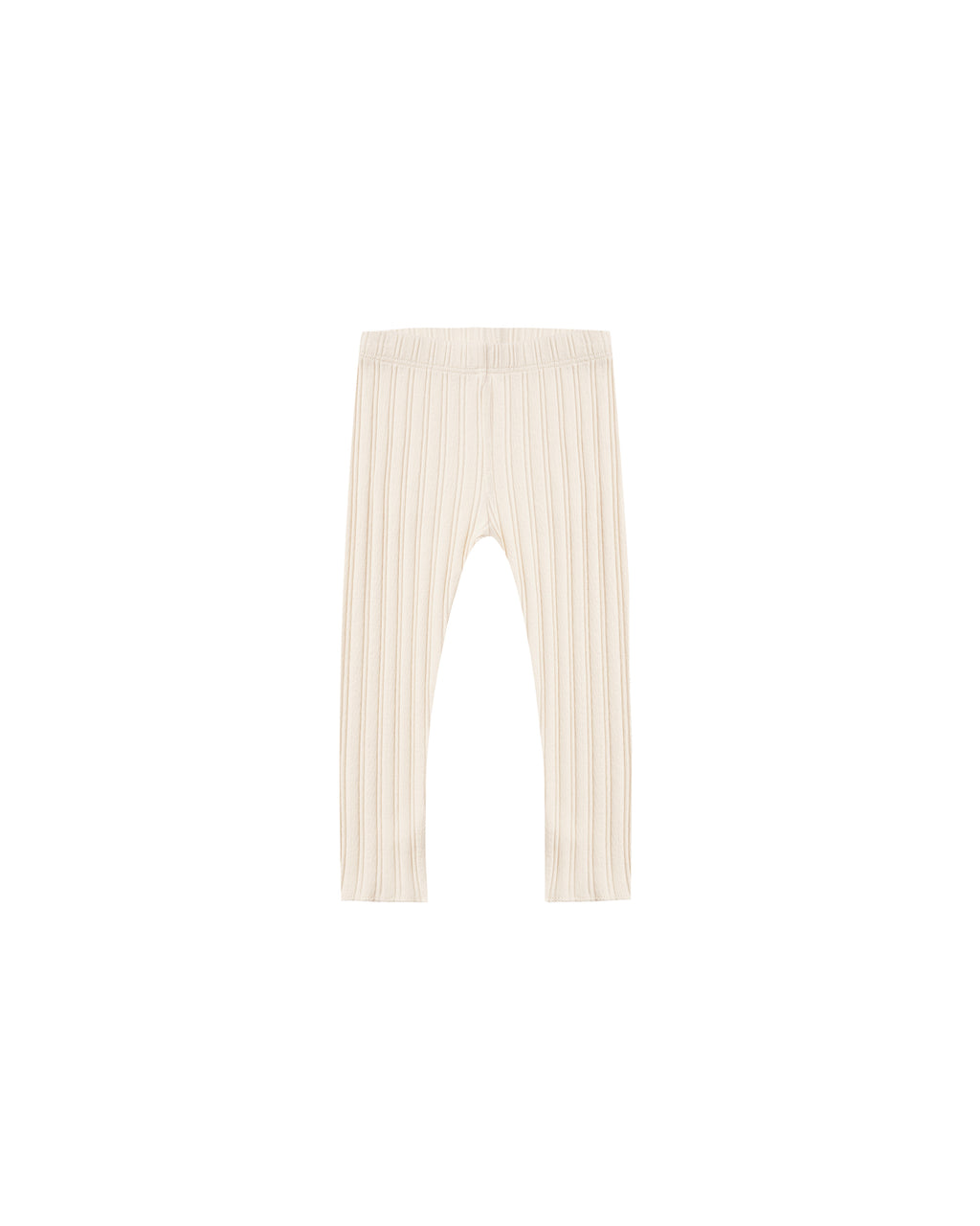 Rylee + Cru Rib Knit Legging - Natural