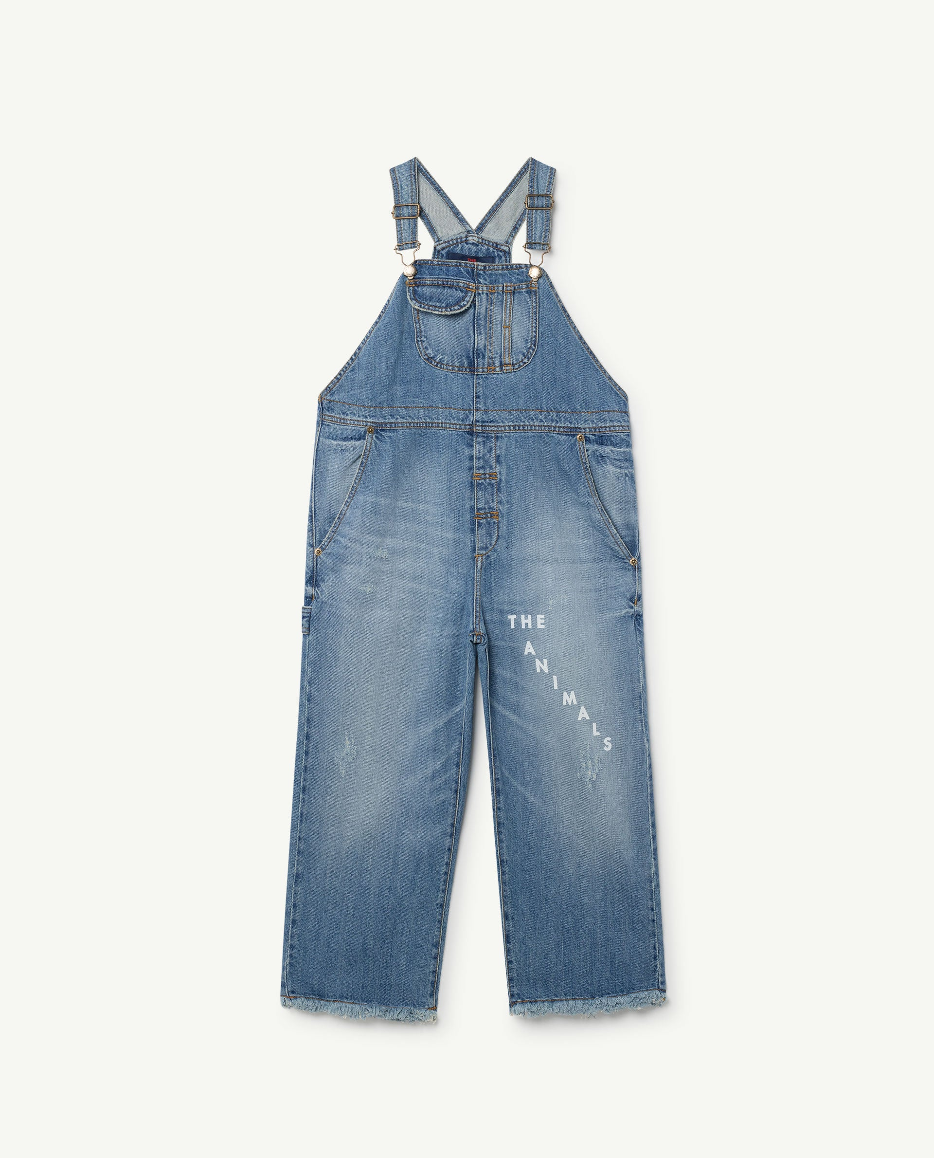 The Animals Observatory Miner Kids Suit - Indigo/White