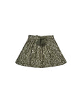 Rylee + Cru Vines Mini Skirt - Forest