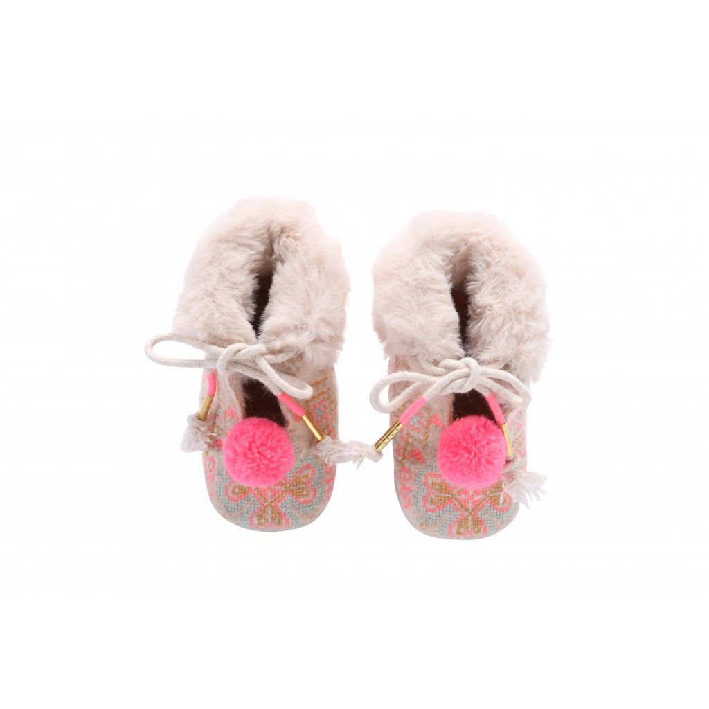 Louise Misha Minorka Slippers - Cream