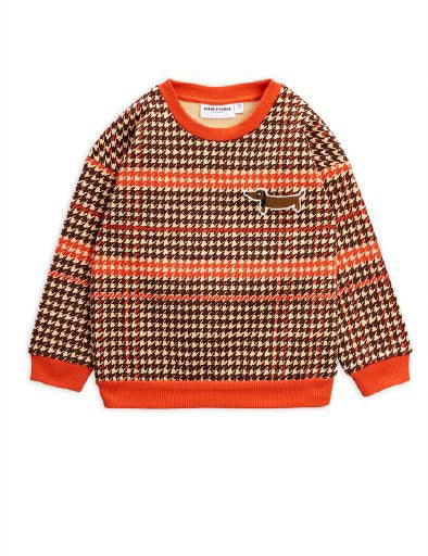 Mini Rodini Houndstooth Sweatshirt