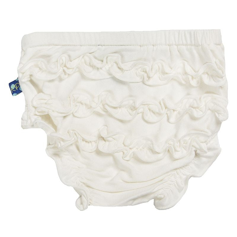 Kickee Pants Natural Ruffle Bloomer