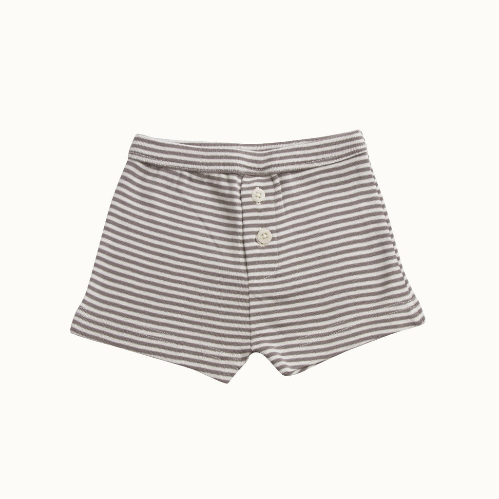 Nature Baby Boys Stripe Boxers - Grey