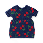 Oeuf Cherry Dress - Indigo
