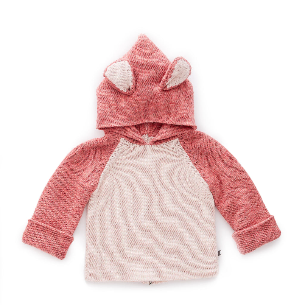 Oeuf Pink Panther Hooded Sweater
