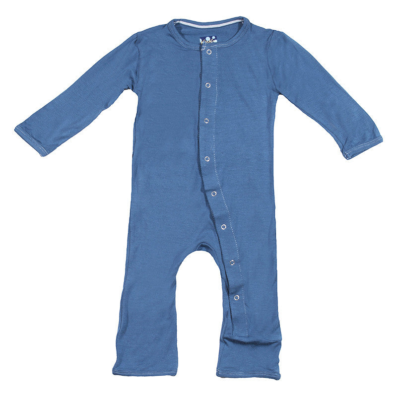 Kickee Pants Coverall: Solids
