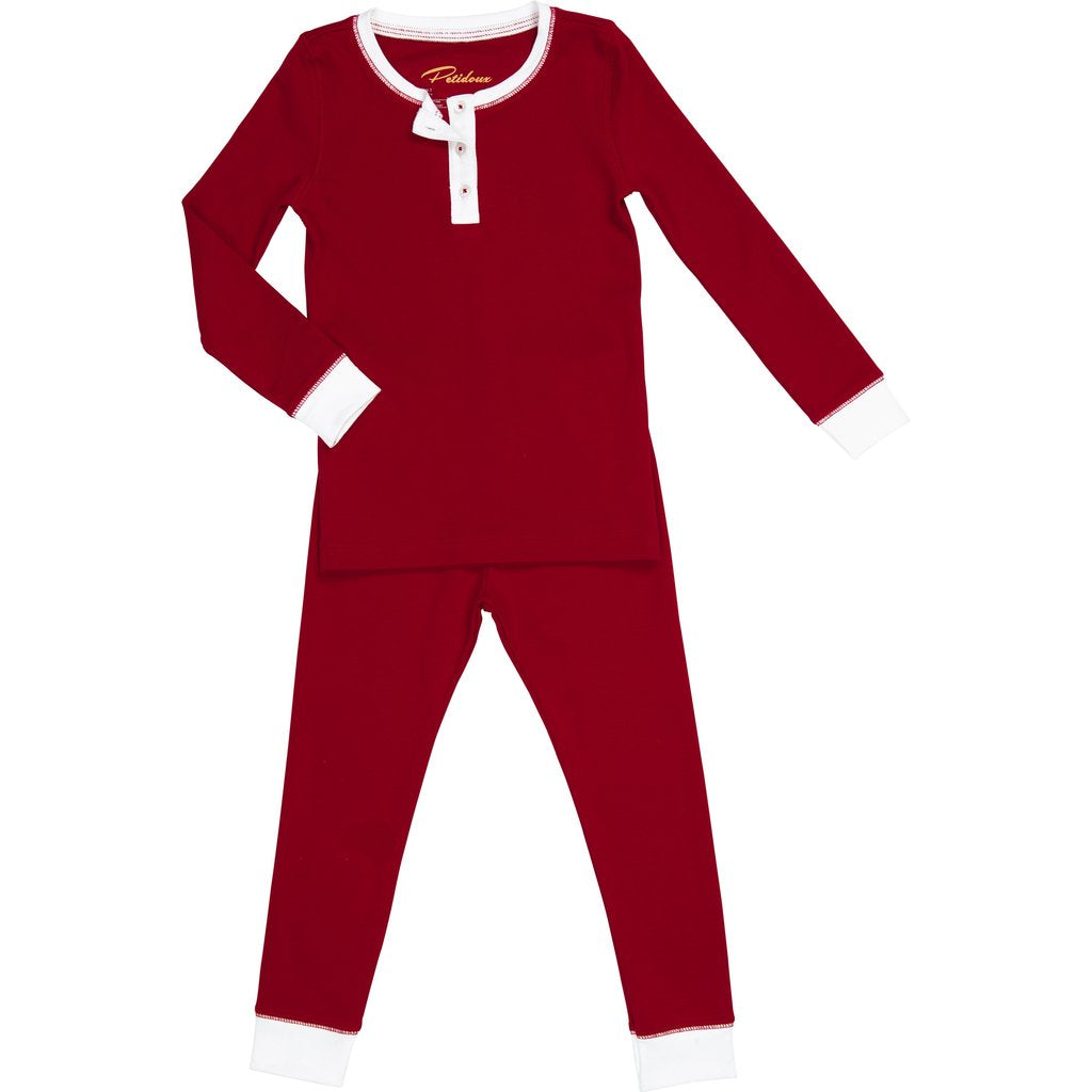 Petidoux Pajama Set - Red