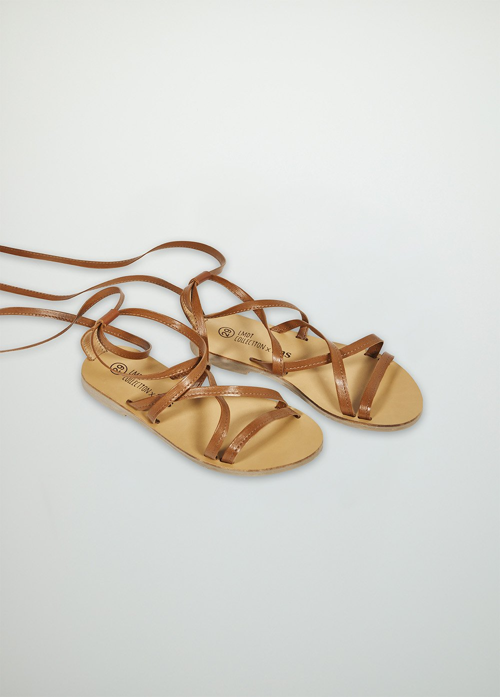 The New Society Roma Sandal - Camel
