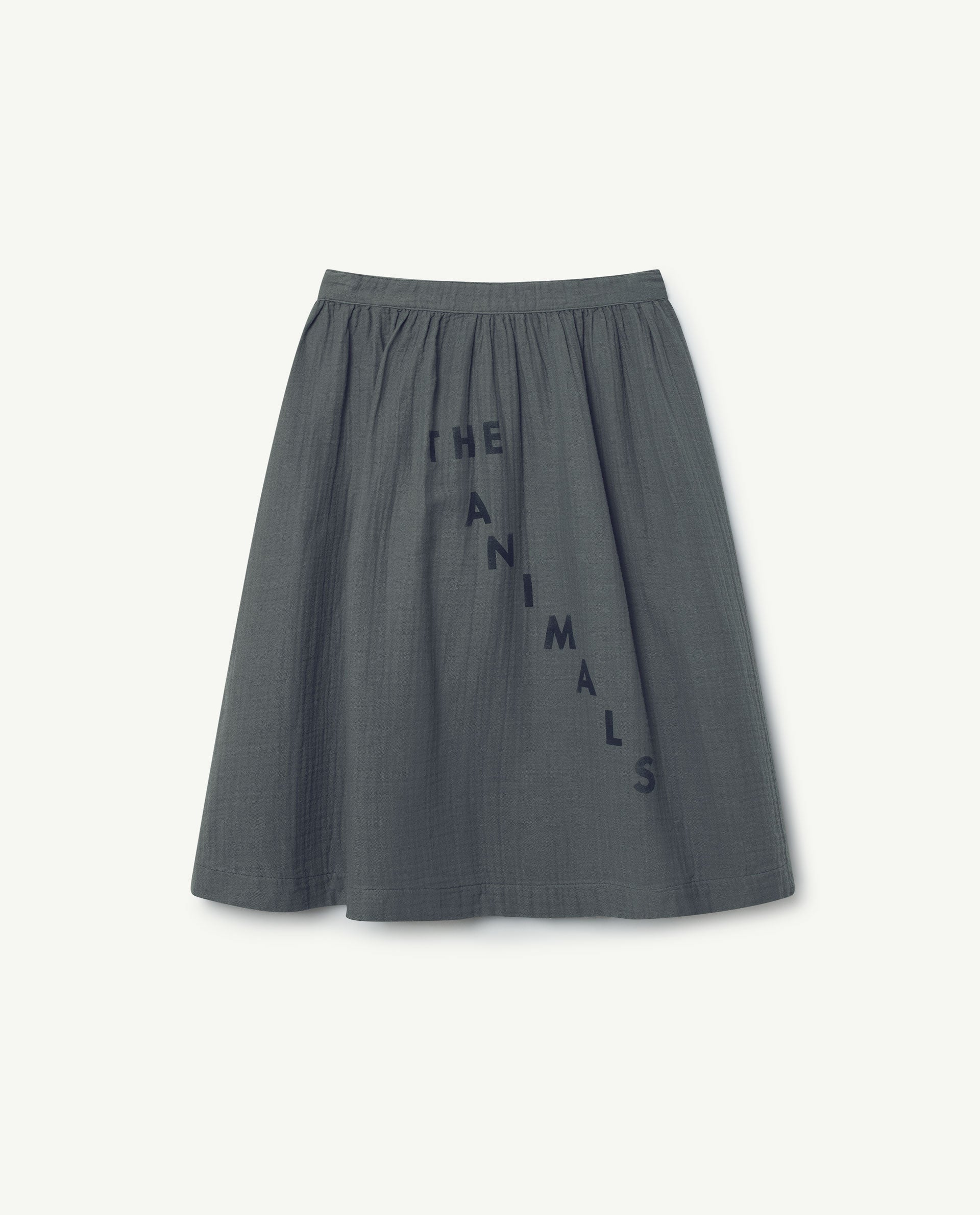The Animals Observatory Sow Skirt - Grey/Navy