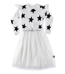 Nununu Star Tulle Dress
