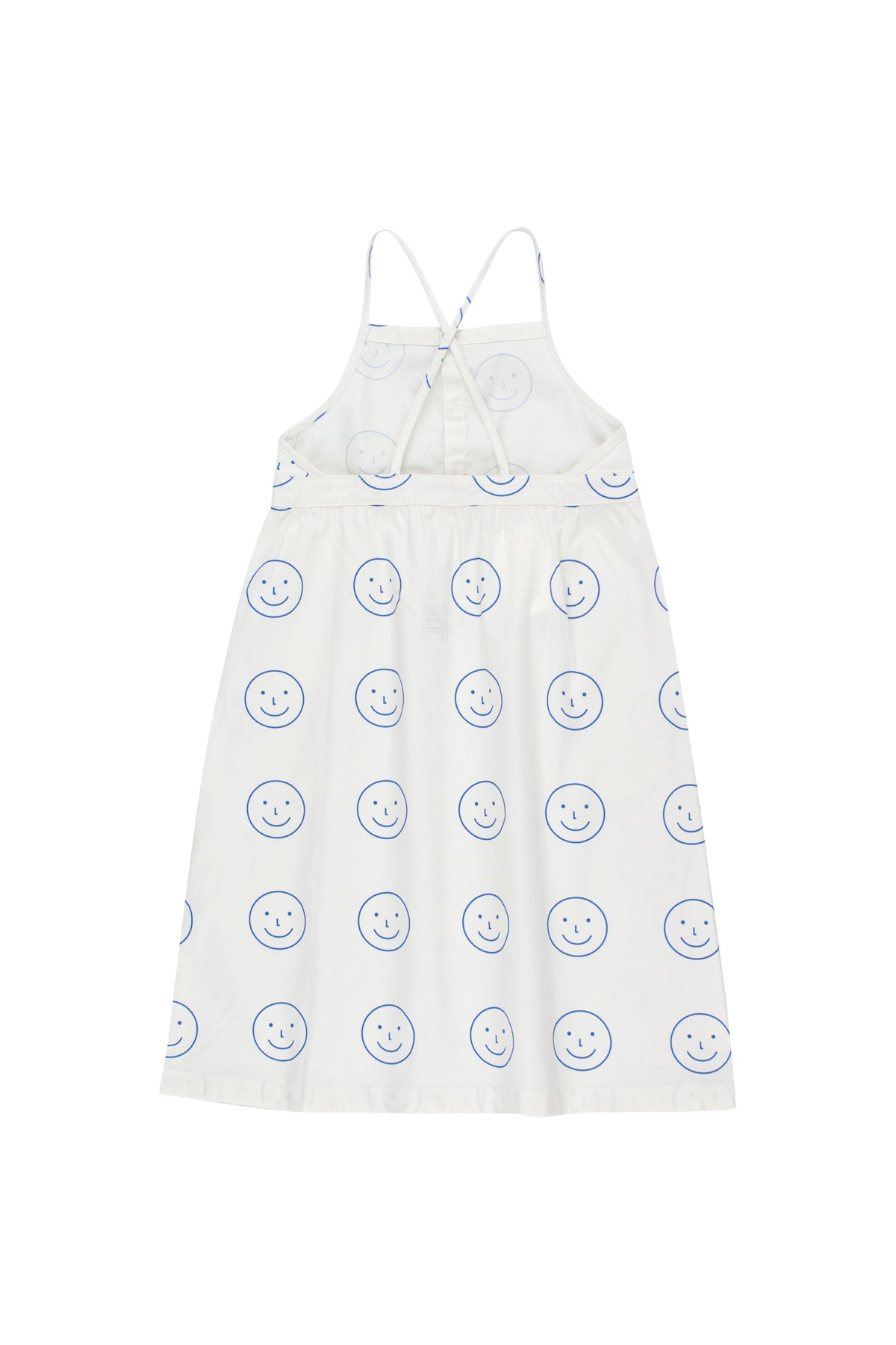 Tiny Cottons Happy Face Cross Back Dress