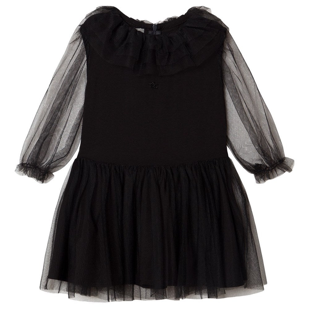 Tocoto Vintage Tulle Dress - Black