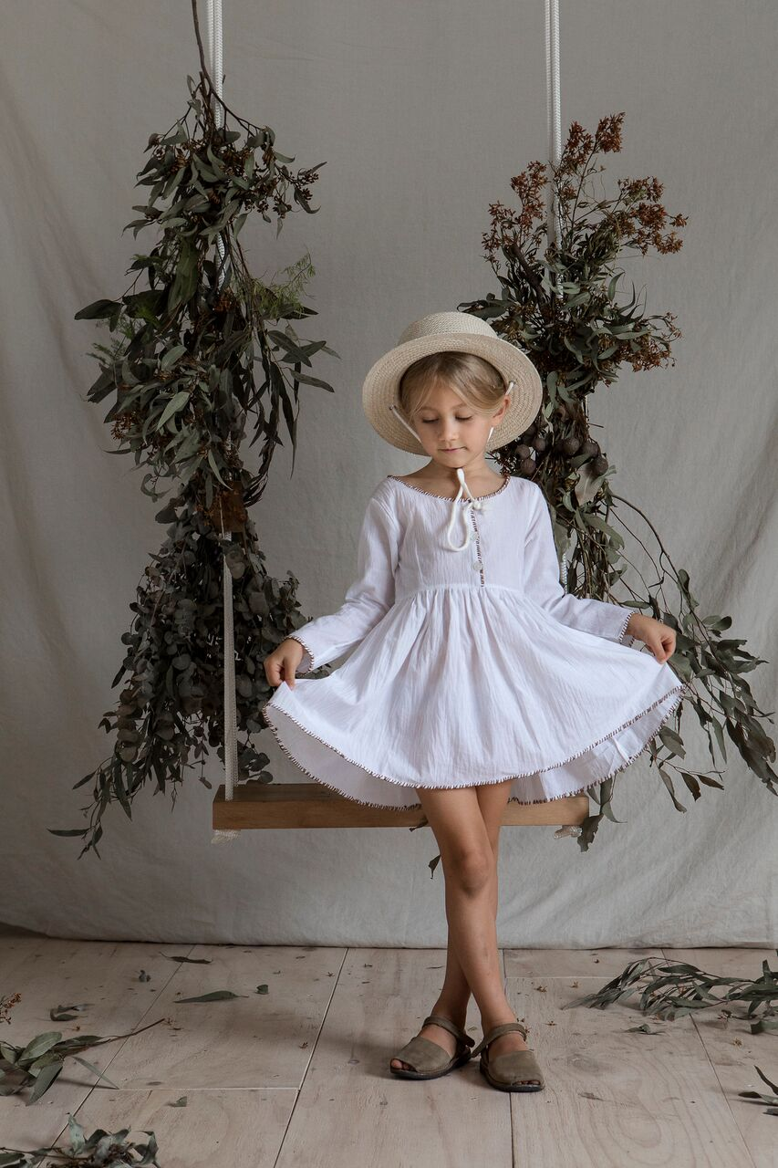Yoli & Otis Lina Dress - White
