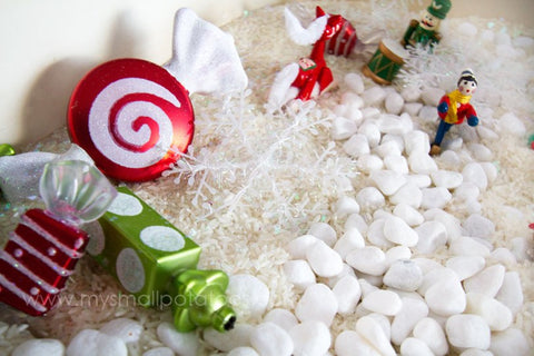 Winter-themed Sensory Play Ideas
