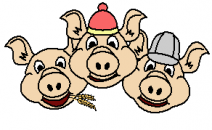 Symbol for Three Little Pigs