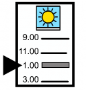 Symbol for Classroom Schedule
