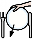 Symbol for Setting the table