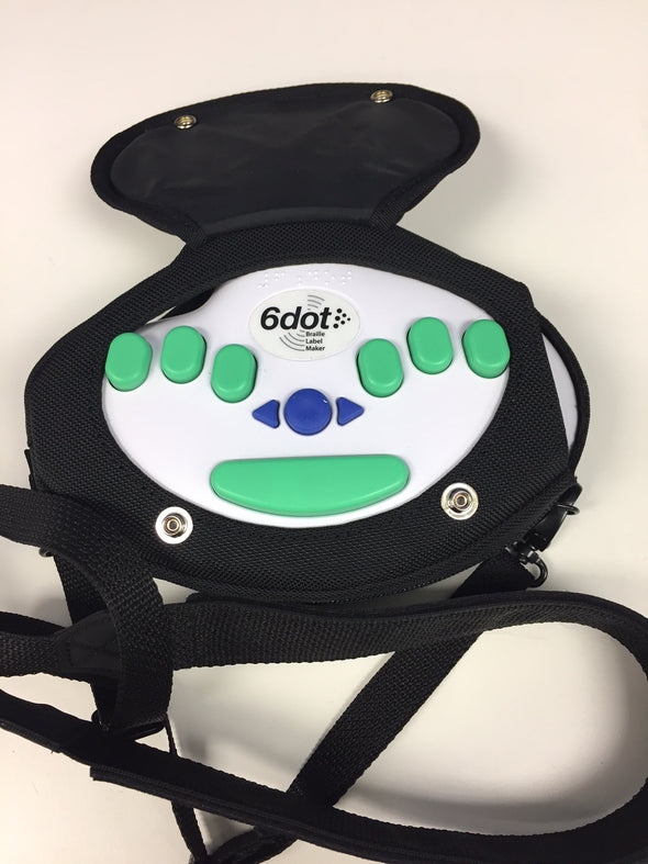 Braille Label Maker in a Carrying Case