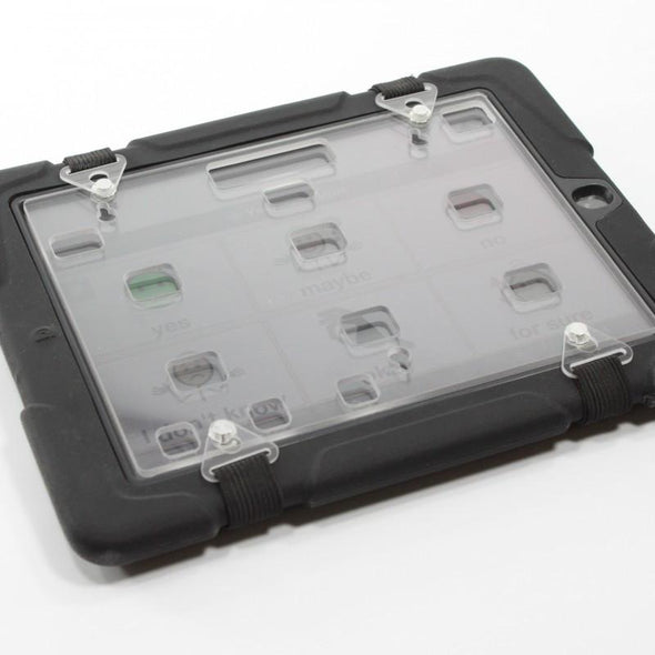 iPad with Elastic Strap Keyguard
