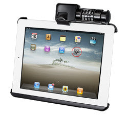 Locking Quick Release Cradle for iPad 1-4 Without Case