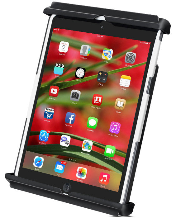 Quick Release Cradle, Tab-Tite, iPad mini 1-4 in Most Cases
