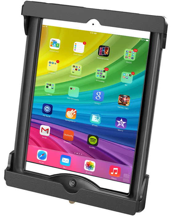 Suction Mount with Cradle, Tab-Lock, iPad Air/Pro 9.7 in Most Cases