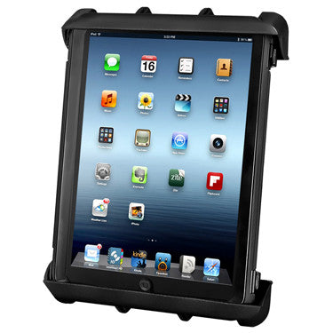 Quick Release Tab-Lock Cradle for iPad 1-4 in Most Cases